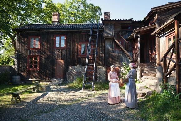 Tokom posete Turkuu obavezna je poseta Gradskom muzeju rukotvorina, distriktu 'Luostarinmäki'