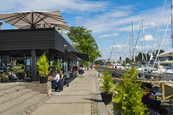 Reka Aura je centralna tačka gradskog života Turkua