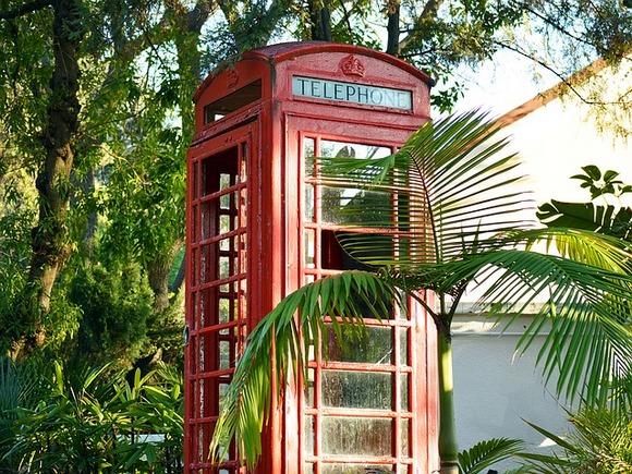 Britanske telefonske govornice su tipičan prizor na Gibraltaru
