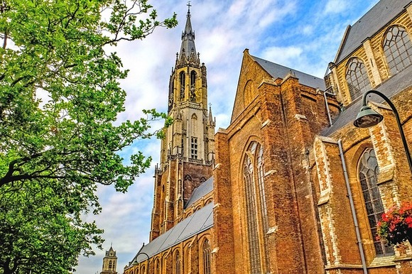 the small town of Delft is one of the Dutch gems of historical and cultural heritage