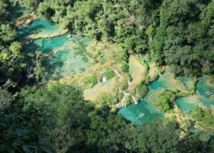 Semuc Champey - the most beautiful natural pool in the world