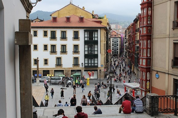 Bilbao Old Town is extremely well preserved