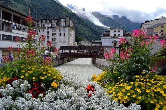 Šamoni je poznat kao dom čuvenog vrha Mon Blan