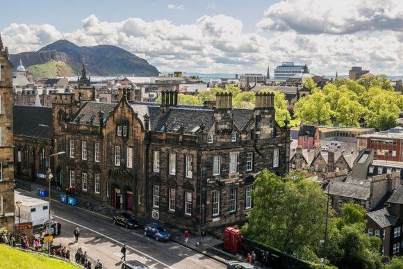 Stari grad Edinburga je na Listi svetske baštine UNESCO-a