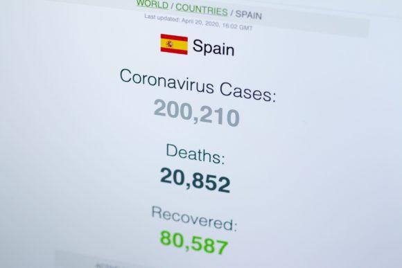 Spanija ima veliki broj zarazenih