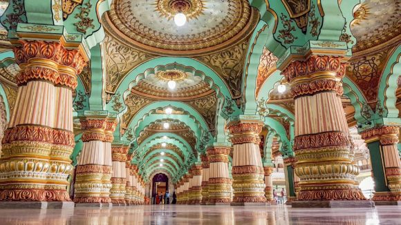 Durbal Hall je najlepsa prostorija palate Mysore