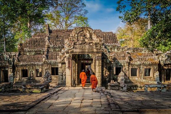 Pre nego što su postali budisti, stanovnici Angkora bili su hinduisti