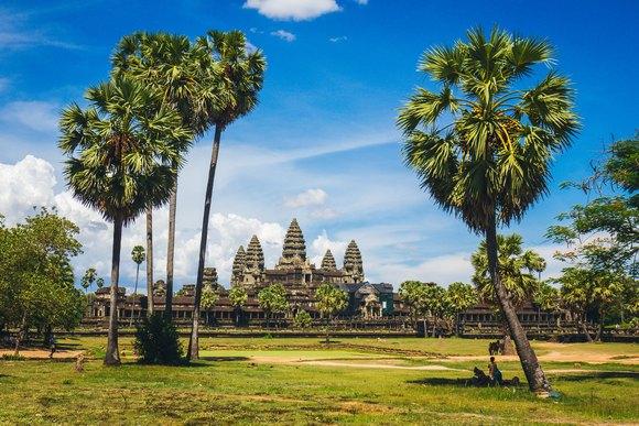 Angkor se prostire na površini jednakoj 300 fudbalskih igrališta