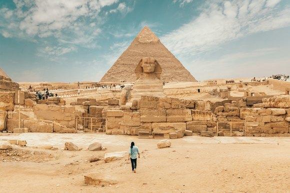 Piramide u Gizi su simbol Egipta