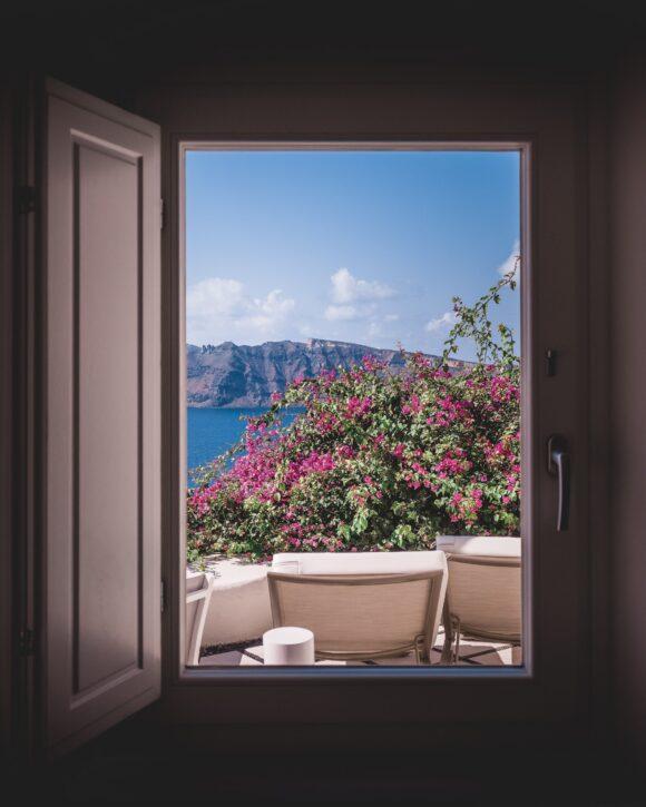 Window Swap pogled kroz tudji prozora