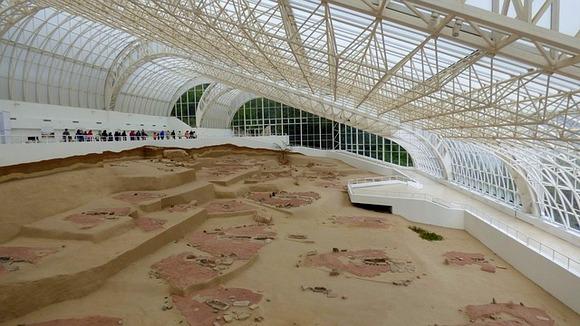 Lepenski Vir, u geoparku Đerdap je nalazište jedne od najstarijih evropskih civilizacija