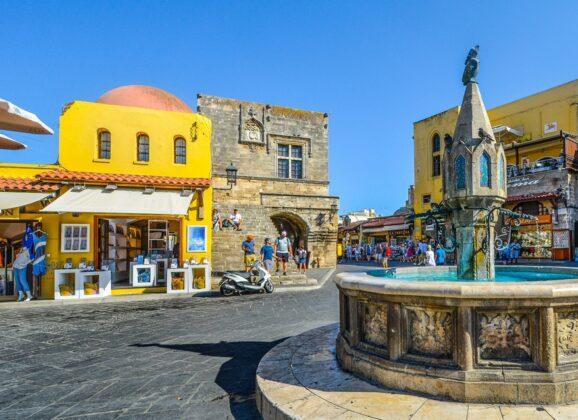 Rodos – Stari grad i luka Mandraki