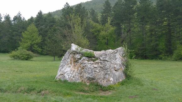Izletište Očno se nalazi na nadmorskoj visini od oko 600m
