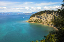 Panorama obale Slovenije