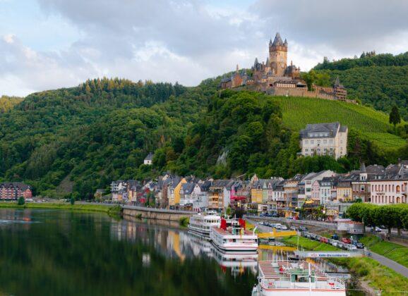 Najlepši srednjovekovni gradovi Nemačke